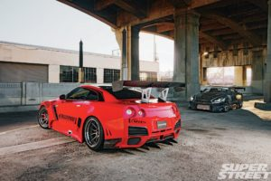 nissan, Gt r, Cars, Tuning, Bodykit, Carbon