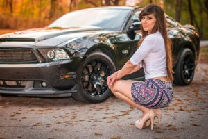 2011, Ford, Mustang, 5, 0, Lauren, Samuhel, Babe, Girl, Usa, 2048×1360 01