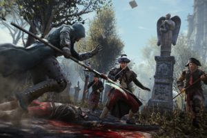 assassins, Creed, Unity, Fantasy, Action, Adventure, Fighting, Warrior