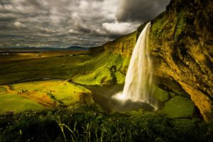 waterfall, River, Landscape, Nature, Waterfalls