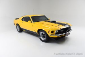 1970, Ford, Mustang, Mach 1, Cars, Classic, Yellow