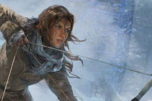 rise, Tomb, Raider, Lara, Croft, Action, Adventure, Mystery, 1rtr, Archer, Warrior, Fantasy