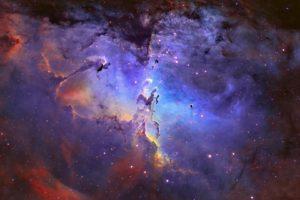 outer, Space, Eagle, Nebula