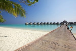maldives, Beach, Sea, Bridge, Houses, Landscape, Ocean, Beaches