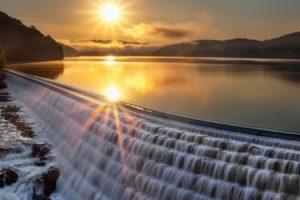 nature, Landscape, Beauty, Beautiful, Sky, Mountain, Waterfall, Sun