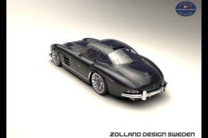 2015, Zolland design, Mercedes, Benz, 300sl, Supercar, Tuning, 300