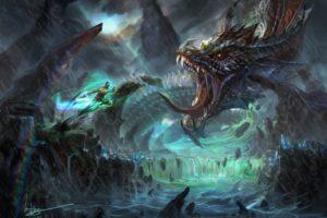 battles, Monsters, Fantasy, Dragon, Dragons, Warrior, Warriors