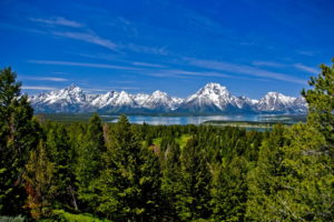 mountains, Nature, Trees, Forest, Lakes, Sky