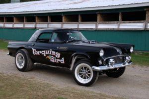 1955, T bird, Gasser, Ford, Thunderbird, Drag, Race, Racing, Hot, Rod, Rods, Retro
