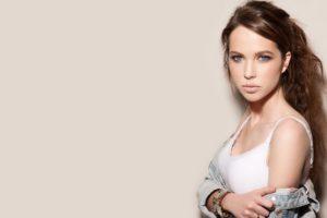 model, Girl, Beautiful, Brunette, Pretty, Cute, Beauty, Sexy, Pose, Face, Eyes, Smile, Hair, Lips, Figure