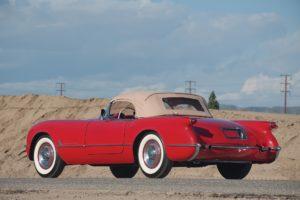 1954, Chevrolet, Corvette,  c1 , Sportsman, Red, Cars, Classic