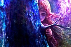 a glimpse is all, Fantasy, Girl, Character, Beautiful, Long, Hair, Woman, Elf
