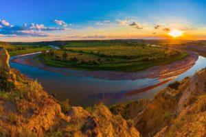usa, Parks, Scenery, Rivers, Grasslands, Sunrises, And, Sunsets, Clouds, Theodore, Roosevelt, National, Park, Medora, Nature