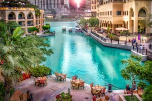 dubai, Emirates, Uae, Resort, Houses, Hdr, Canal, Cities