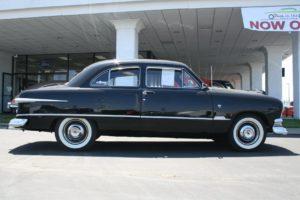 1951, Ford, Custom, Sedan, 2, Door, Black, Classic, Old, Vintage, Usa, 1536×1152 02