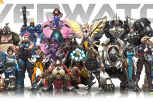 overwatch, Shooter, Action, Fighting, Mecha, Sci fi, Futuristic, Warrior, Poster