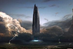 sci fi, Futuristic, Science, Fiction, Art, Artistic, Original, Space