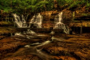 usa, Waterfalls, Fall, Branch, New, River, Gorge, Nature