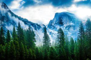 usa, Mountains, California, Trees, Yosemite, Nevada, Sierra, Nature