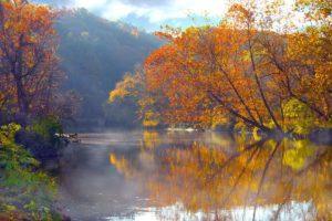 paisaje, Lago, Naturaleza
