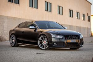 2016, Vorsteiner, Audi s5, Cars, Black, Coupe, Wheels