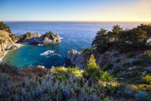 ocean, Bay, California, Rocks, Natur