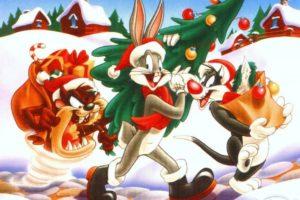 looney, Tunes, Christmas, Bugs, Bunny