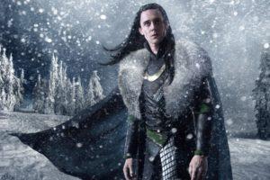 snow, Trees, Cgi, Long, Hair, Artwork, Marvel, Comics, Loki, Tom, Hiddleston, Fan, Art, Armour, Thor,  movie
