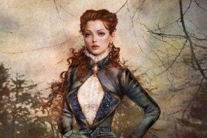 women, Fantasy, Redheads, Fantasy, Art, Digital, Art, Artwork, Portraits