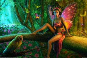 tanya varga, Varga, Tanya wheeler, Wheeler, Cellesria, Cellesria, Deviantart, Com, Fantasy, Cg, Digital art, Artistic, Magical, Fairies, Fairy, Butterflies, Insects, Trees, Forests, Magical