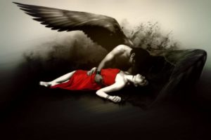 fantasy, Fallen, Angel, Gothic, Dark, Wings, Mood, Emotion, Sad, Sorrow, Death, Color, Contrast, Pale, Love, Romance, Art, Artistic, Women, Females, Girls, Dress, Men, Males, Boy, Emo, Suicide, Macabre, Horror