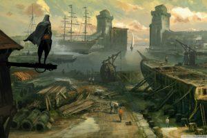 concept, Art, Assassins, Creed, Revelations