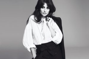women, Actress, Penelope, Cruz, Spanish, Monochrome, Greyscale