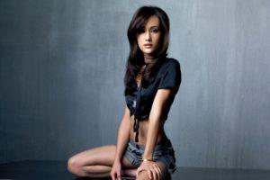 maggie, Q, Actress, Asian, Oriental, Women, Model, Brunettes, Sexy, Babes