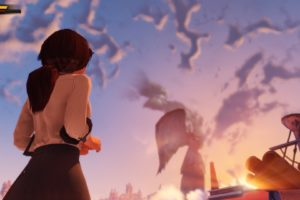 women, Artwork, Bioshock, Infinite, Low angle, Shot