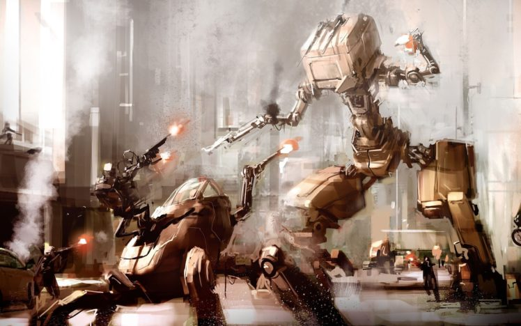 robots, Futuristic, Artwork, 2560×1600, Wallpaper, Abstract, Futurism, Hd, Sci, Fi HD Wallpaper Desktop Background