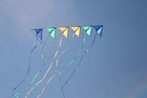 kite, Flying, Bokeh, Flight, Fly, Summer, Hobby, Sport, Sky, Toy, Fun