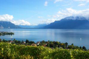 switzerland, Lake, Mountains, Scenery, Geneva, Nature