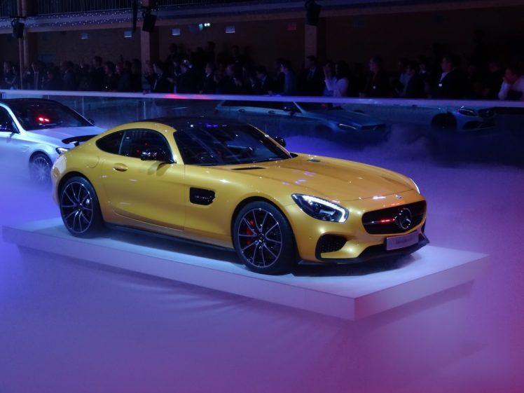 2014, Mercedes, Amg gt, Paris, Auto, Show, Cars HD Wallpaper Desktop Background