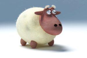 owdlarrd, Funny, Sheep, Cartoon, Sheep
