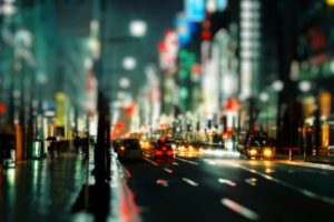 cityscapes, Streets, Cars, Urban, Bokeh, Depth, Of, Field, Nighttime