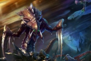 video, Games, Starcraft, Zerg, Hydralisk, Fantasy, Art, Artwork, Starcraft, Ii