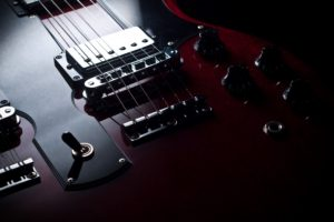 electric, Gibson, Fender, Guitar, Reflection, Strings, Macro, Music, Art