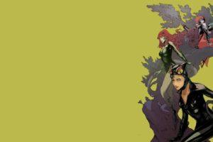 gotham city sirens, D c, Dc comics, Catwoman, Poison, Ivy, Harley, Quinn, Superhero, Gotham, City, Sirens