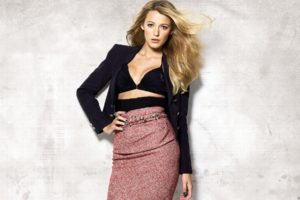 blake, Lively, Actress, Model, Blondes, Women, Females, Girls, Sexy, Babes, Face, Eyes, Cleavage