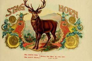 cigars, Cigarette, Tobacco, Bokeh, Smoke, Smoking, Cigar, Poster, Retro, Vintage, Style, Art, Artwork, Label, Logo, Deer