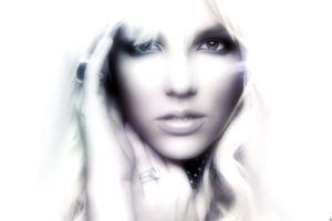 britney, Spears, Singer, Musician, Blondes, Women, Females, Girls, Sexy, Babes, Face, Eyes, Monochrome, Black, White, Soft