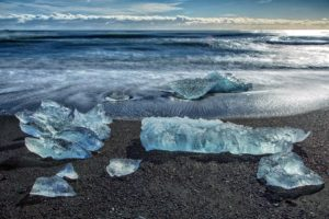 coast, Waves, Water, Ice, Nature, Winter, Frozen