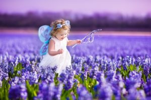 flowers, Spring, Kids, Children, Childhood, Purple, Butterfly, Princess, Landscapes, Nature, Earth, Beauty, Fun, Joy, Happy, Fields, Girls
