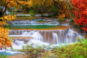 waterfall, River, Landscape, Nature, Waterfalls, Autumn